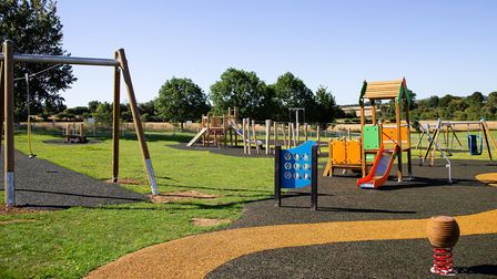 The new play park boasts modern facilities and wheelchair accessible options for children of all age