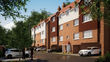 An artist's impression of how the scheme may look on its completion. Picture: Heritage Foundation