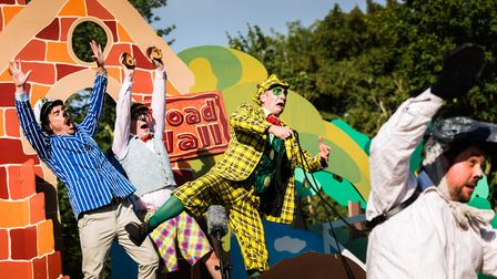 Garden Theatre returns to Knebworth House with a production of The Wind in the Willows. Picture: Sup