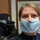 Chief Inspector Janette Rawlingson, Uttlesford district commander for Essex Police, in a coronavirus