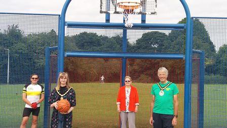 Six new basketball nets have been installed in parks across Stevenage. Picture: SBC
