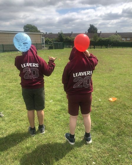 Pupils from Longmeadow School in Stevenage took part in a Zoom leaving party with children at home a