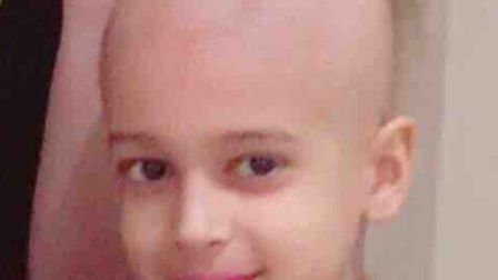 Iranian Artin Khosravi, 11, has been battling cancer for three years and has recently been told it h