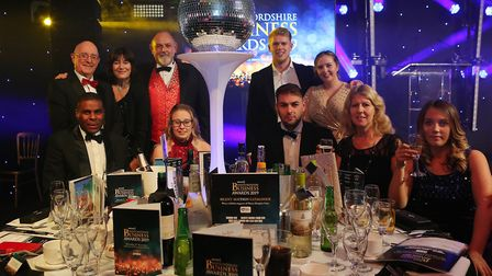 The Accountancy Practice were finalists at the Hertfordshire Business Awards. Picture: Helen Frogget