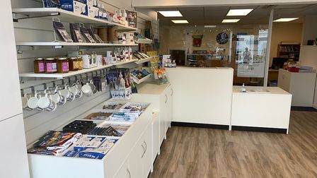 The new look Hitchin Information Centre in Churchyard. Picture: Tom Hardy
