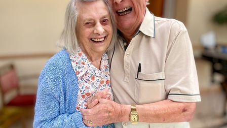 Cousins Bryan Orchard and Margaret Waller have been reunited at Foxholes Care Home after a decade ap