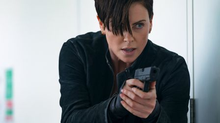 Charlize Theron as Andy on The Old Guard. Picture: AMY SPINKS/NETFLIX © 2020