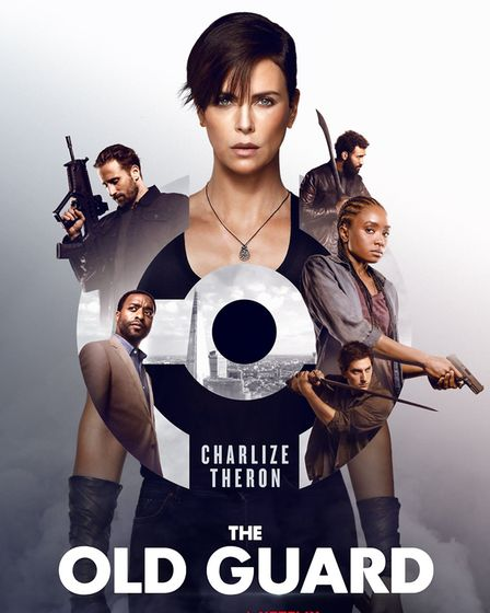 The Old Guard film poster. Picture: Netflix