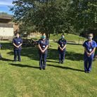 The respiratory clinical nurse specialist team, based at Lister Hospital in Stevenage. Picture: East