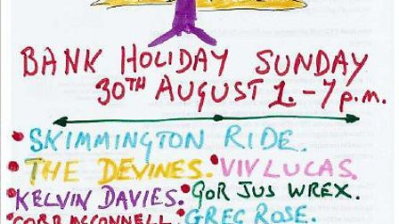 Folk Around The Tree 2020 will take place at The Orange Tree in Baldock on Sunday, August 30.