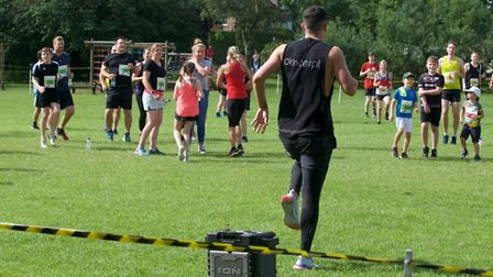 Personal trainer Dexter Wright is running a marathon around South Cambs in memory of his friend LCpl