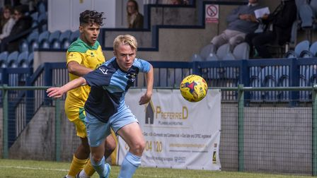 Hitchin Town picked up a 1-0 win in their pre-season friendly at St Neots Town. Picture: PETER ELSE