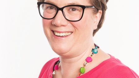 Hastingwood's St Clare Hospice Chief Executive Sarah Thompson. Picture: St Clare Hospice
