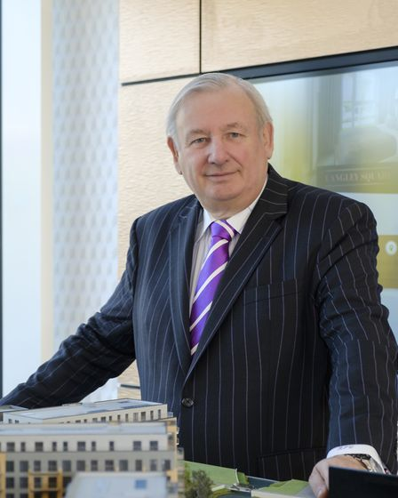 Bob Weston, chairman and managing director of Weston Homes. Picture: Grant Frazer