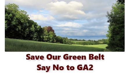 Campaigners are trying to save the land known in the Local Plan as GA2, which is earmarked for 600 h