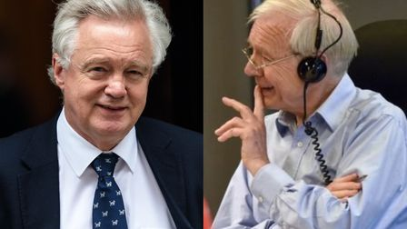 David Davis and John Humphrys have come under criticism for sharing jokes about an alleged domestic