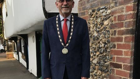 Councillor Richard Porch, deputy mayor and chair of planning at Saffron Walden Town Council. Photo: