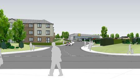 The proposed redevelopment of the former Pulse Packing factory at Land to the South of Radwinter Roa