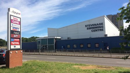 Stevenage Swimming Centre has reopened since national lockdown measures eased, but usage is below no