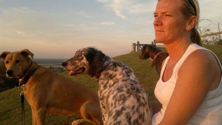 Nicky has a life long passion for caring for dogs, and hopes to open a rescue centre in Spain. Pictu