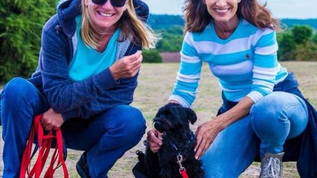Nicky runs a dog training service in Hitchin. Picture: Courtesy of Nicky Visser