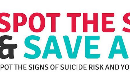 Spot the Signs is a suicide prevention charity.