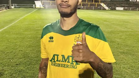 Harley Alexander-Sule, who is one half of the hip-hop duo Rizzle Kicks, played for Hitchin Town FC i