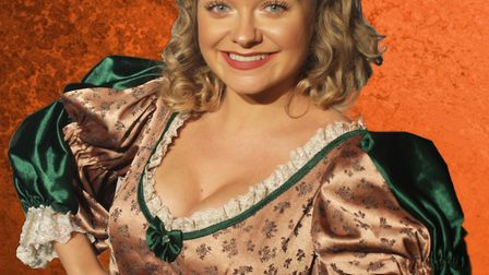 Jemma Carlisle as Nell Gwyn, which can be seen at The Market Theatre in Hitchin. Picture: The Market