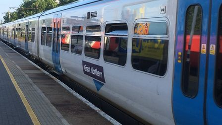 A person has been struck by a train between Peterborough and Stevenage. Picture: Nick Gill