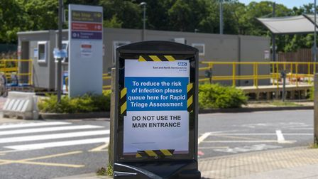 Lister Hospital in Stevenage and the New QEII are set to receive a 6million funding boost. Picture: