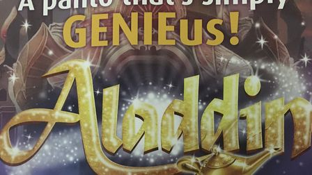Aladdin will now be the 2021 Stevenage pantomime at the Gordon Craig Theatre.