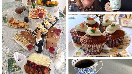 Rotary Club of Hitchin Tilehouse held a successful afternoon tea fundraising event. Picture: Fiona G