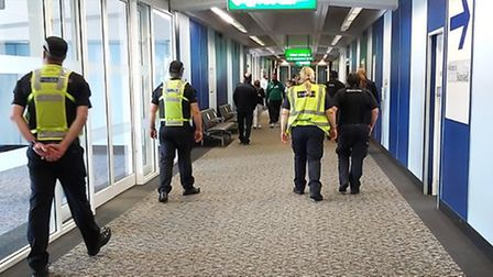Essex Police worked with partner agencies to raise awareness of human trafficking during a two day e