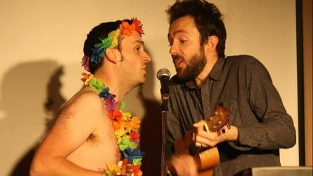 Doggett & Ephgrave at Hitchin Mostly Comedy. Picture: Gemma Poole.