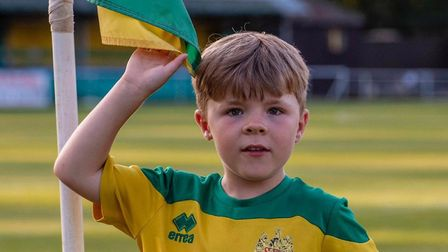 Teddy, 5, will be walking 25 laps of Top Field this Sunday. Picture: Supplied
