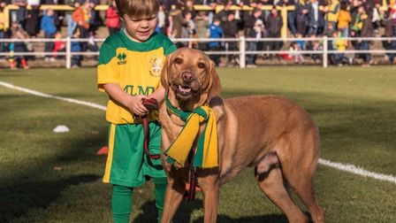 Teddy's family has a deep rooted history with The Canaries. Picture: Supplied