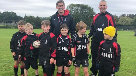 Wendens Ambo mini rugby club are pleased to be back on the pitch.