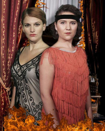 Too Late starring Lucia Young and Eleanor Pead opens at the Market Theatre in Hitchin on Thursday, O