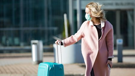 You need to book a viral test if you're planning a business trip abroad. Picture: Getty Images