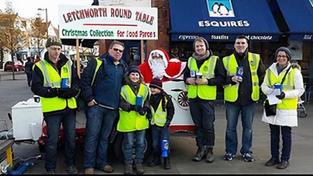 Letchworth Round Table has had to cancel its annual Christmas sleigh collection due to COVID-19. Pic