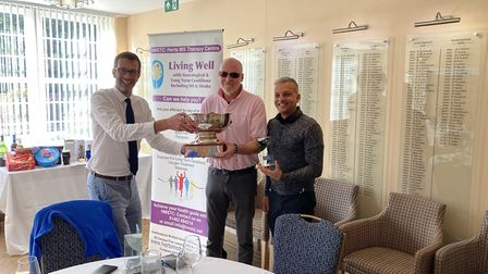 Letchworth Golf Club held a charity golf day in aid of Herts' MS Therapy Centre. Picture: Paul Bisho