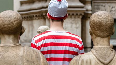 Will you be able to find Wally in Hitchin this Halloween? Picture: Alex Dimos