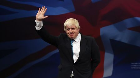 Boris Johnson at Conservative party conference. Pictue: Dan Kitwood/Getty Images