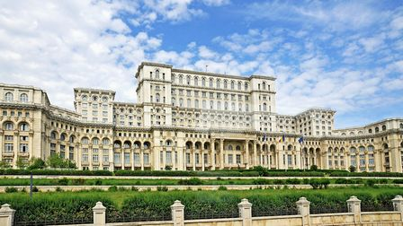 Romania's Palace of the Parliament in Bucharest (question five) (Pic: Dennis G. Jarvis)