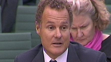 Daily Mail chairman Viscount Rothermere giving evidence to the Privacy and Injunctions Joint Committ