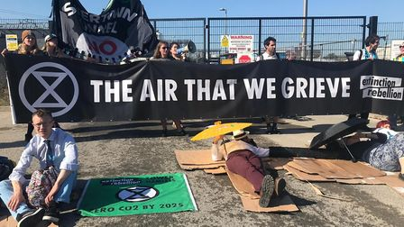 Extinction rebellion were part of 'climate spring' where environmental issues have taken centre stag