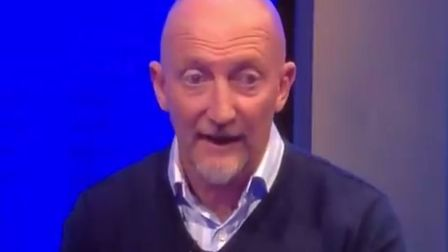 Ian Holloway blamed the EU for the controversial new handball rules. Picture: Sky Sport/Twitter