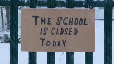 Several schools have shut in Welwyn Hatfield and more are expected to close later today