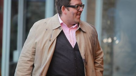 Nick Frost's character Andy in The World's End