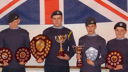 Wisbech air cadets show off their awards